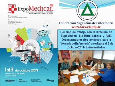 ExpoMedical logo 2014