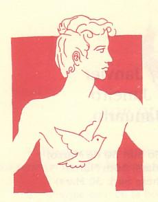 Logotipo del DENIP original de Eulogio Díaz del CorralAutorizada la reproducción ya que este logotipo ha sido declarado de dominio público por el autor del mismo y por el fundador y coordinador del DENIP