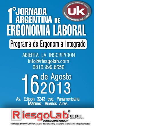 Jornada Ergonomía