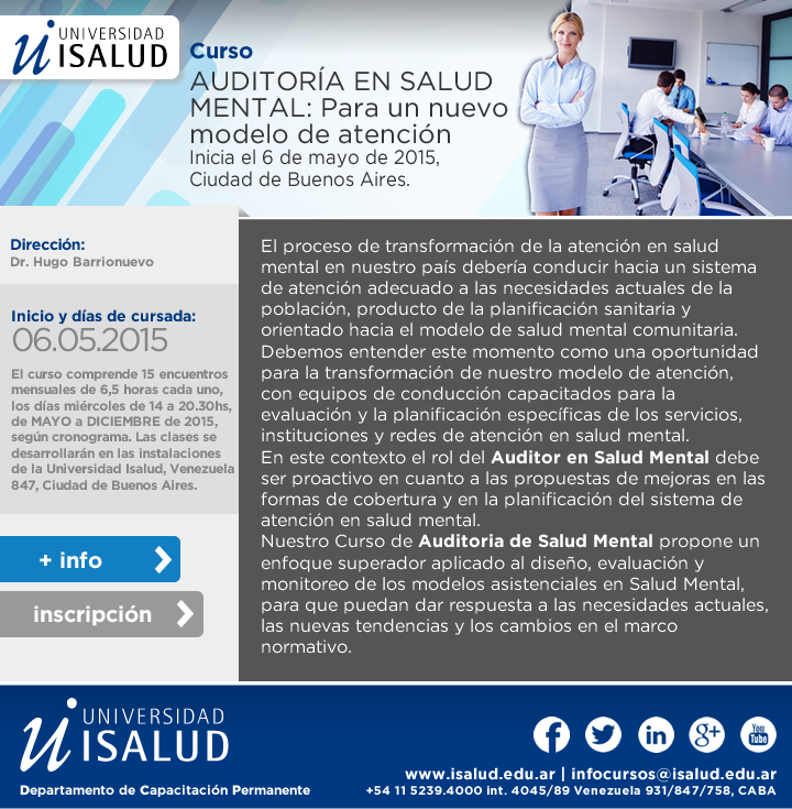 auditoria en salud mental