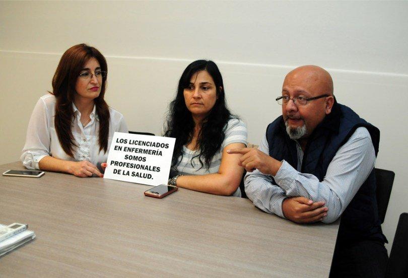 Enfermeros movilizados contra una ley que pretende degradar la profesión!!!! Noviembre 2018.