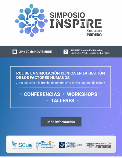 Simposio INSPIRE. Simulación FEMEBA. Inicio noviembre 29, 2019. La Plata. Buenos Aires.