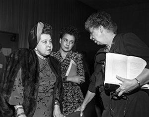 Las Mujeres que dieron forma a la Declaración Universal de Derechos Humanos.